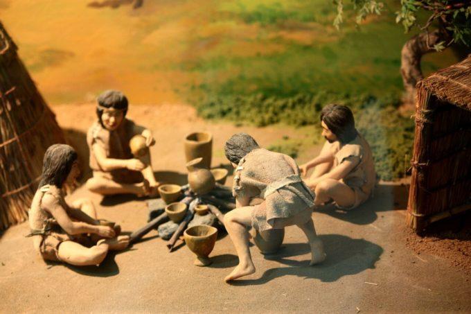 古代人の暮らし