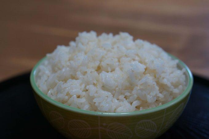 無農薬米 浅く精米した白米